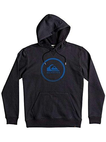 Quiksilver Herren Hood Big Logo-Hoodie Anthracite
