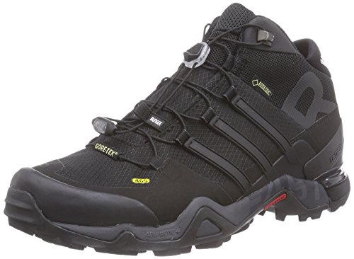 adidas Terrex Fast R Mid Gtx, Chaussures Multisport Outdoor homme Noir (core Black/dark Grey/ftwr White)