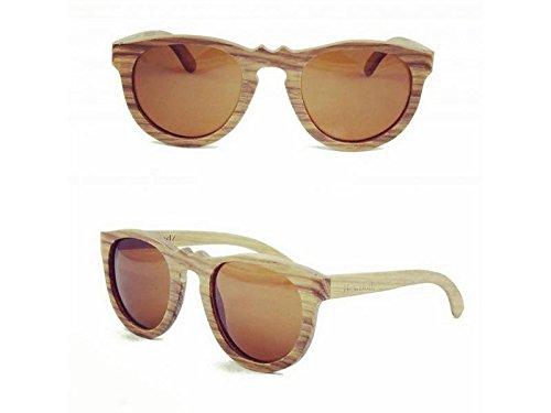 Vintage Holz Sonnenbrille