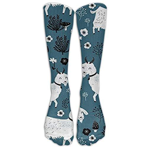 Goats Baby Farm Animal Knee High Graduated Compression Socks For Women And Men - Best Medical, Nursing, Travel -
