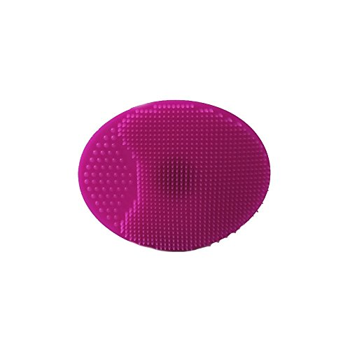 Disque Exfoliant Silicone Visage 6.5 x 5 cm - Rose