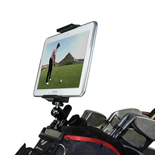 Golf Gadgets Swing Recording System Backen Klemme und Schwanenhals-Halterung für Smartphone. Kompatibel mit iPhones, Samsung Galaxy, HTC, jedem Handy etc.
