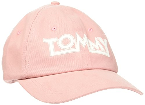 Tommy Hilfiger THD Soft Cap, Gorra de béisbol para Mujer, Naranja (Confetti 630), Fabricante: Talla única