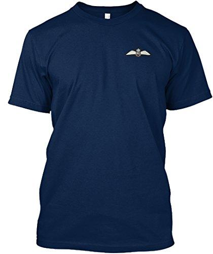 Stylisches T-Shirt Damen / Herren / Unisex von Teespring | Originelles Outfit für jeden Anlass und lustige Geschenksidee - RAF Wings Royal Air Force (Air Force Wings T-shirt)