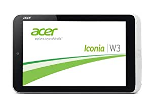 Acer Iconia W3-810 Z276 20,5 cm (8,1 Zoll) Tablet-PC (Intel Atom Z2760, 2GB RAM, 32GB eMMC, Win 8 OS) weiß