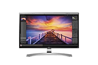 "LG 27UD88-W Écran PC LED IPS - 27"" - 3840 x 2160 UHD 4K - 350 cd/m2 - 5 ms - Argent (2xHDMI, DisplayPort, USB 3.0, USB-C) (B01CDYB0QS) 