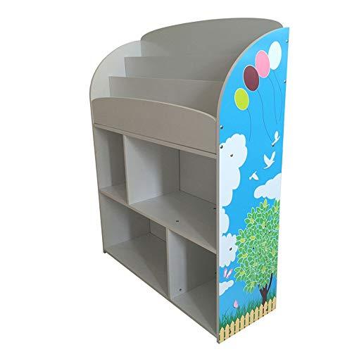 Glhkkp governo dell'organizzatore del giocattolo scaffale per scaffali con divisori per scaffali per esposizione di scaffali con display a colori. stampa sicura colorata