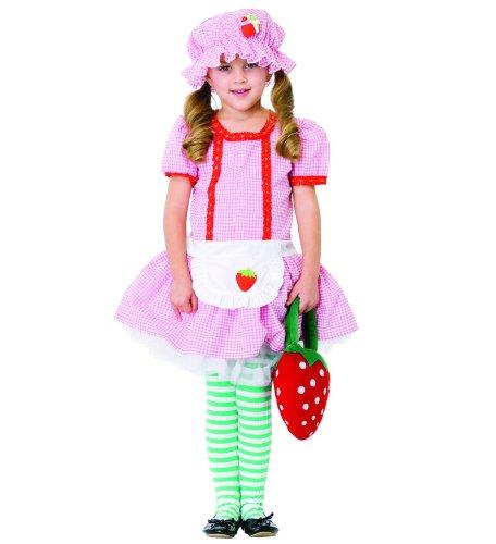 Girl Kinder Kostüm Country - Leg Avenue - Country Girl Kostüm - Rosa/Rot - S - C48113