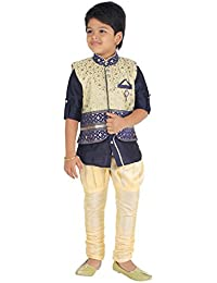 [Sponsored]ahhaaaa Kid's Kurta, Payjama And Waistcoat For Boys