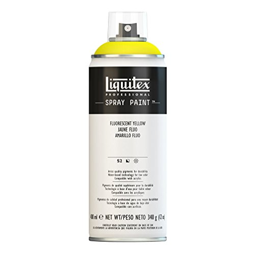 Liquitex Professional - Acrílico en spray, 400ml, amarillo fluorescente