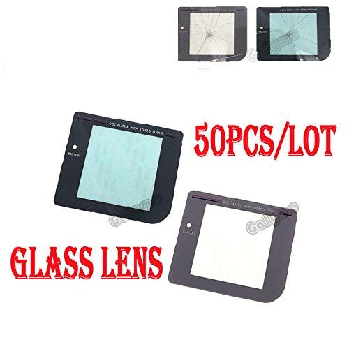 Ersatzglas für Nintendo Gameboy GB System (HD, für GBO DMG Panel), Grau, 50 Stück (Game Boy-system)