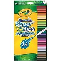 "Vivid Imaginations ""Crayola"" Supertips Craft (Pack of 24, Multi-Colour)"