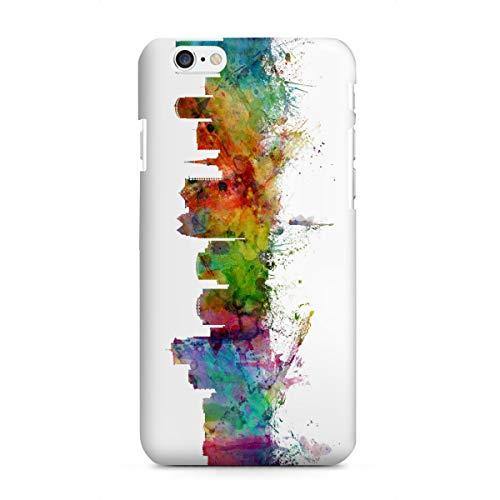 artboxONE Apple iPhone 6 Premium-Case Handyhülle Orlando Florida Watercolor von Michael Tompsett