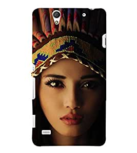 EPICCASE Tribal woman Mobile Back Case Cover For Sony Xperia C4 (Designer Case)