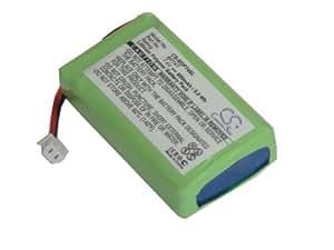 Batterie LI-POLYMER 800mAh 7.4V pour DOGTRA Transmitter 2500B, 2500T, 2502B, 2502T, 3500B, 3500T, 3502B, 3502T remplace BP74T, BP-74T