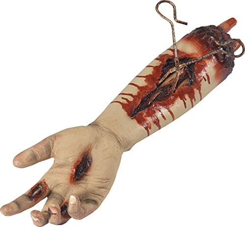 Smiffys SMIFFY 'S 46835Pulsierende Animierter Blutig DURCHTRENNTE Arm Prop, Natur, One Size