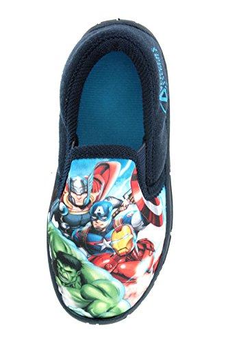 boys-marvel-avengers-hulk-iron-man-captain-america-slippers-shoes-toddler-childrens-size-uk-10-3
