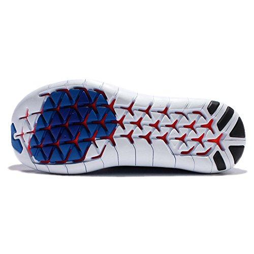 Nike Free Rn Motion Flyknit, Scarpe da Corsa Uomo Photo Blue/Total Orange/Hyper Cobalt/Black