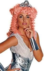 UGF 563577 Long boucl-s perruque Aphrodite et casque