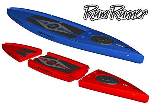 Point65 Rum Runner 11,5 auseinandernehmbares SUP Board paddeln Stand up Paddling