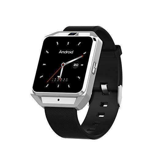 Happy Event Smartwatch, H5 4G Smart Watch Sportuhr Fitness Tracker mit Schrittzähler Schlafanalyse 1,54 Zoll Touchscreen, Kamera, SMS Facebook Vibration Kompatibles Android-Handy für Herren Damen (Cdma Android-handys)