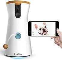 Furbo Dog Caméra : Lanceur de friandises, Caméra Wi-FI HD et Audio bidirectionnel