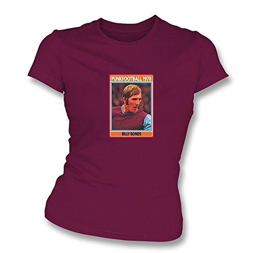 PunkFootball Che-Clough-T-Shirt, Farbe- Rot