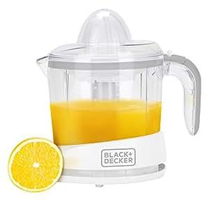Black + Decker 1 LTR Citrus Juicer,White