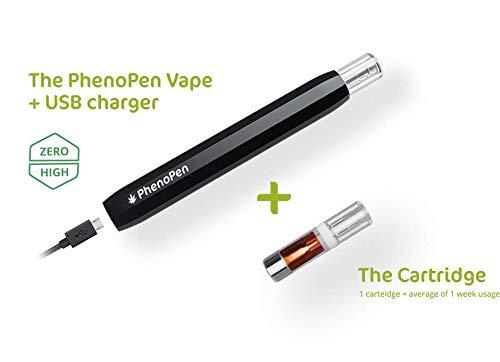 PhenoPen (52{9625235dd0b18453062374559a59dbc972b9ce66ed41d4dea1a34c7e746873d3} CBD) Starterkit - next level CBD! Vaporizer - CBD Pen für hochkonzentriertes CBD-Öl