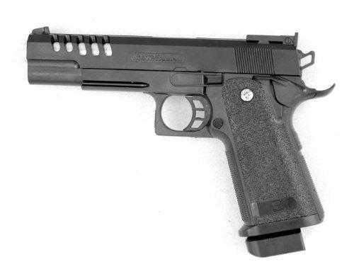 Preisvergleich Produktbild Kugelpistole 24cm mit Magazin und Munition - Schwere Ausführung - ab 14 Jahren