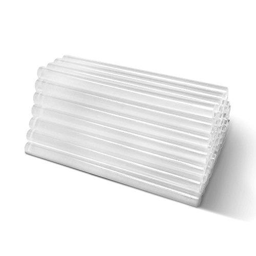 Amdai 50 Stück Heißklebestifte - Universal Heißklebesticks - Transparent 100 x 7,2 mm