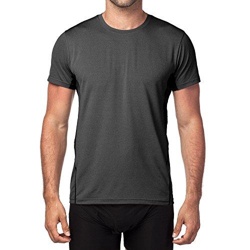 LAPASA Uomo T shirt Performance Cupro – TECNOLOGIA ANTIODORE Sport Running Palestra M15