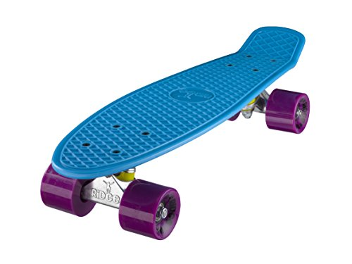 Ridge Skateboard Mini Cruiser, blau-lila, 22 Zoll, R22