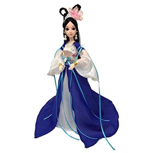 (Schönen Palast Konkubine Menschen Puppen chinesischen alten Kostüm Göttin-B2)