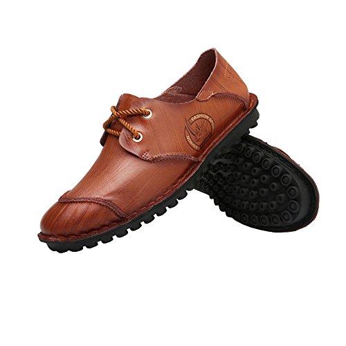 Lisianthus002 , Herren Mokkasins Reddish Brown-2