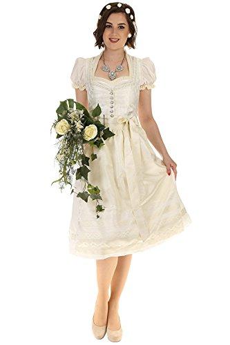 Turi Landhaus Damen Brautdirndl D711080080 Katja Hochzeit 1002champagner