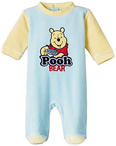 Disney Baby Boys' Nightdress (NH0361/B5061A_Cream and Light Blue_18-24 months)
