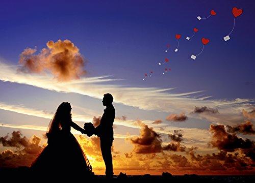 "Ballonflugkarten ""Frisch Verheiratet"" - 4"