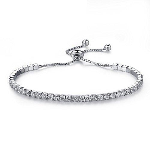 buy popular 303e2 41ab8 Impression 1 pcs Braccialetti braccialetto di fiori braccialetti di moda  accessori di gioielli ragazza regalo di San Valentino Bracciale regolabile  ...