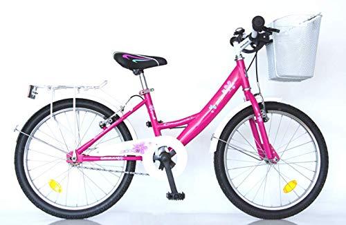 "T&Y Trade 20\"" 20 Zoll Kinder Fahrrad MÄDCHENFAHRRAD KINDERFAHRRAD MÄDCHENRAD Kinder Bike Rad 2300 Pink"