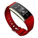 White Stores 2 Wasserdichte IP67 Fitness-Tracker, Herzfrequenz-Fitness-Uhr, Activity Tracker Bluetooth Smart-Armband, Schrittzähler