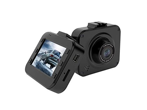 Dash Cam DVR In Car Recorder Camera by Bluepupile | Full HD 1080P LCD Screen 2.0 inch FHD Blackbox Dashboard 120° Wide Angle Built-in G-Sensor / WDR / Loop Recording / Parking Monitor / Motion Detection / Night Vision / Bluetooth | Mini Dashcam for Driving