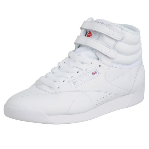 Reebok Freestyle Hi, Sneakers da Donna, Bianco, 38 EU