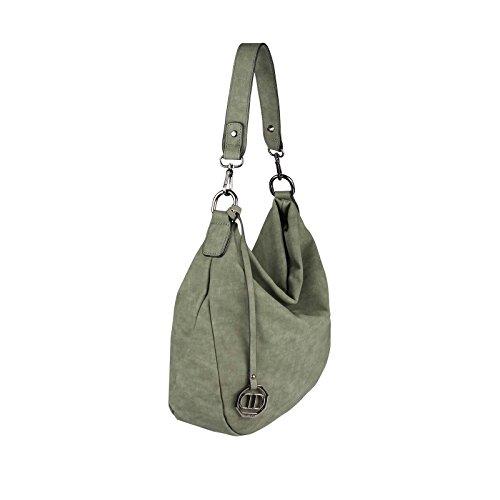 OBC Only-Beautiful-Couture, Borsa tote donna Verde Khaki 35x29x10 cm ca.: 35x29x10 cm (BxHxT) Khaki 35x29x10 cm