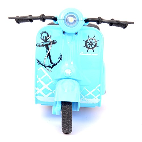 Meratoy Electric Metal Scooter _ Blue