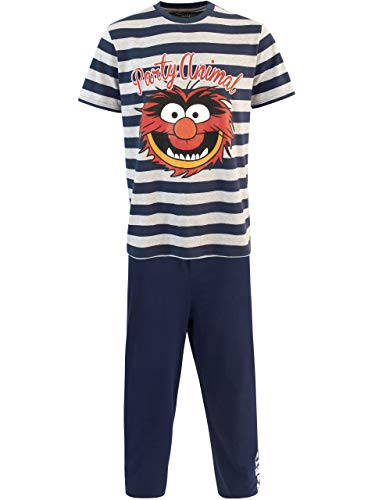 Disney Pijama para Hombre Los Muppets Animal Azul XX-Large