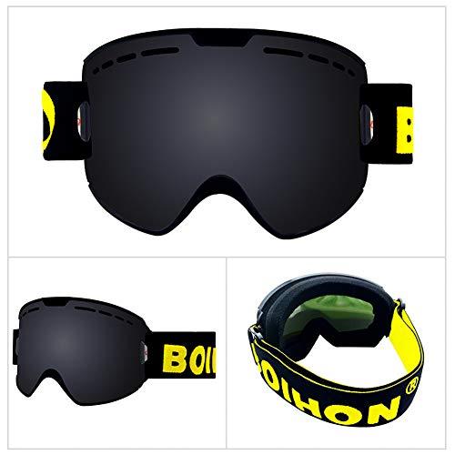 BLTX Snow Goggles, Snowboard Skibrille Schutz Anti-Fog Lens PC Linse Durable TPU Rahmen Voll Venting Für Erwachsene Und Teenager Für Skifahren Im Freien, Snowboarden, Eislaufen, Motorschlittenfahren,2
