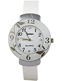 Zwiteer Girl's And Women Stylish Analogue White Dial Watch