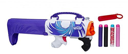 Hasbro B0474 - Nerf - Rebelle Shot secreto, púrpura