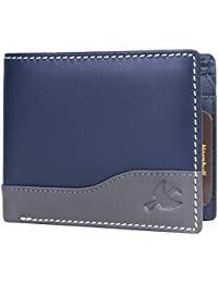 Hornbull Buttler Men's Genuine Leather RFID Blocking Wallet